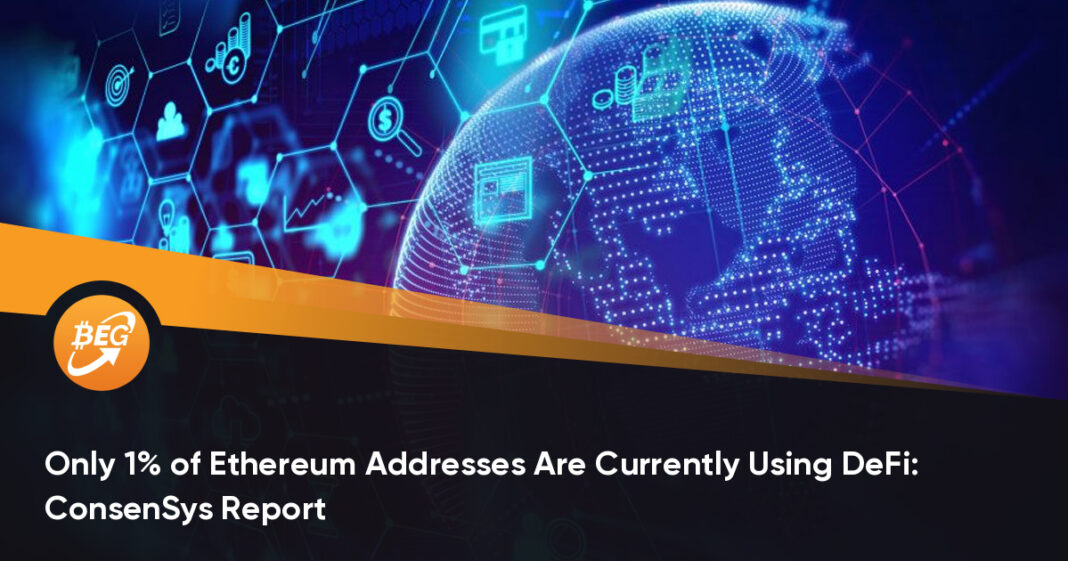 Only 1% of Ethereum Addresses Are Currently Using DeFi: ConsenSys Report