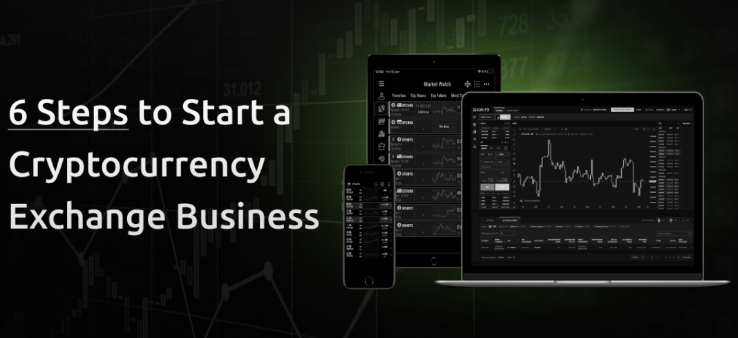 6 Steps to Start a Cryptocurrency Exchange Business