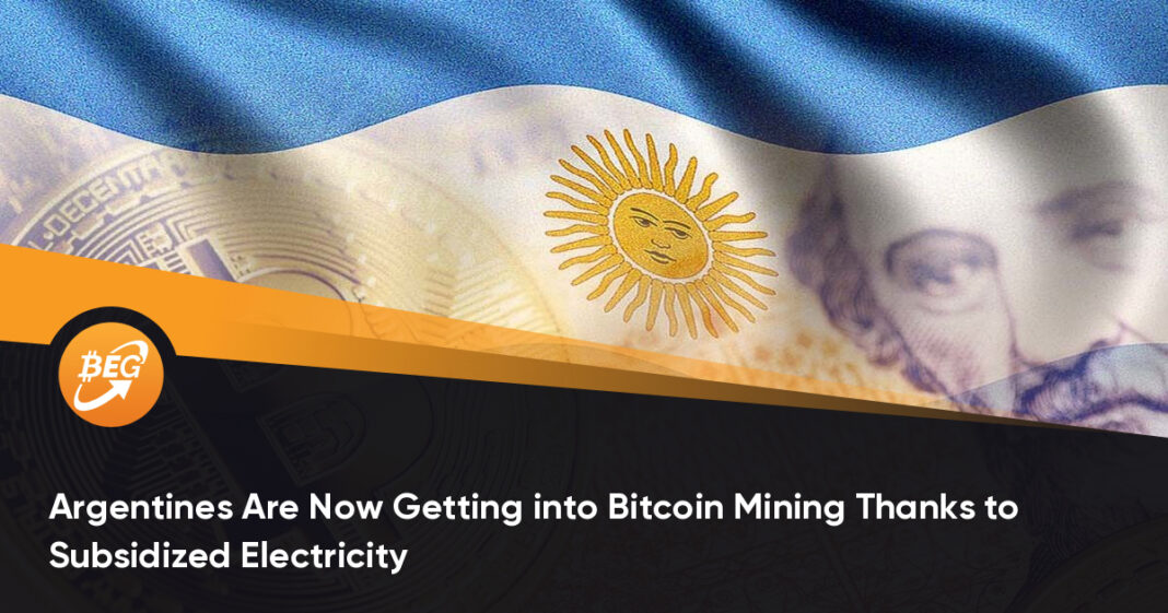 Argentines Are Now Getting into Bitcoin Mining Thanks to Subsidized Electricity