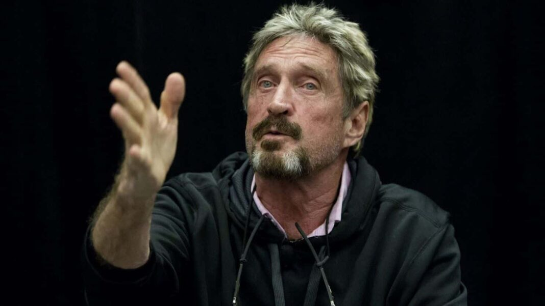 Spanish Court Approves the Extradition of John McAfee to the US